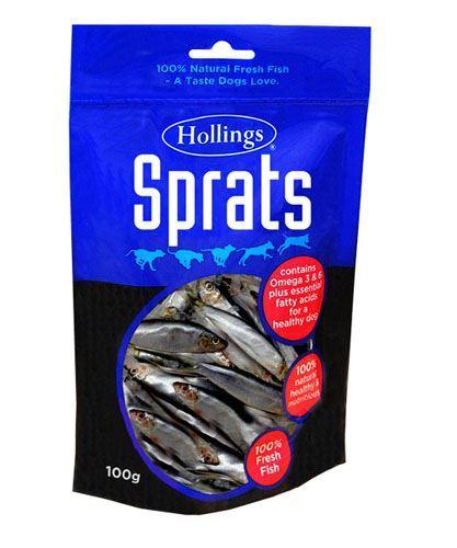 Dried Sprats 100g - Hollings